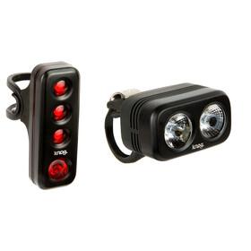 Knog Blinder Road 250 + Road R70 Twinpack Beleuchtungsset black